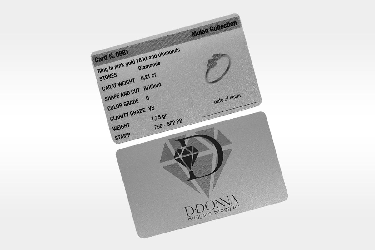 Certificazione D·Donna