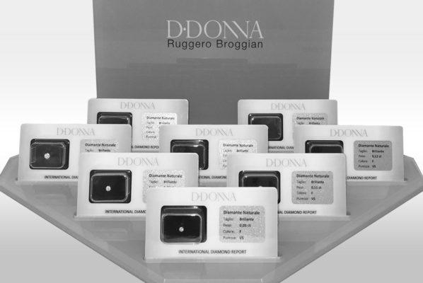 Espositore Diamanti D·Donna