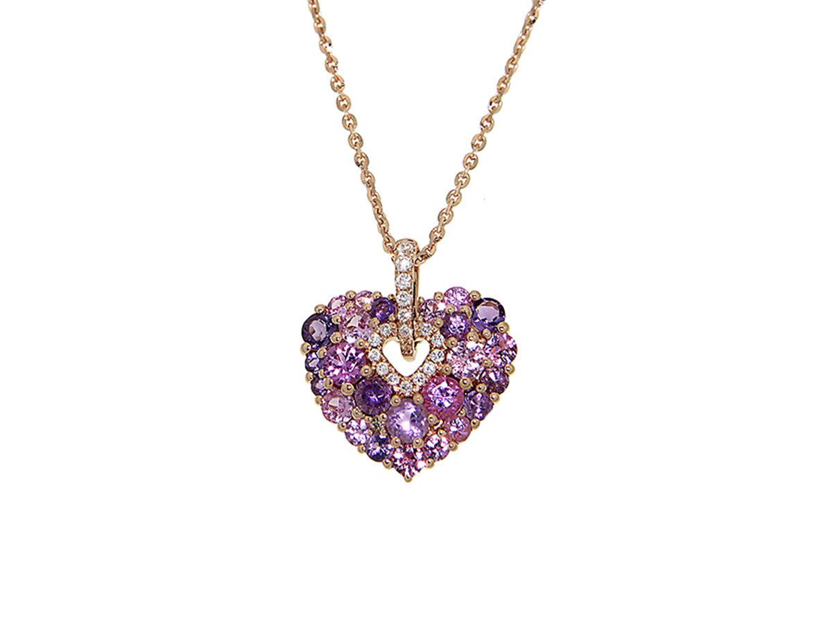 pendente-oro-rosa-diamanti-zaffiri-rosa-ametiste-aurora-ddonna-gioielli