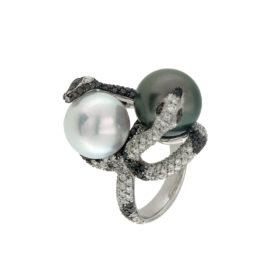 anello-oro-bianco-diamanti-bianchi-neri-perla-tahiti-e-australiana--icon-ddonna-gioielli
