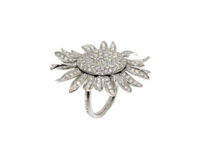 anello-oro-bianco-diamanti-girasole-ddonna-gioielli