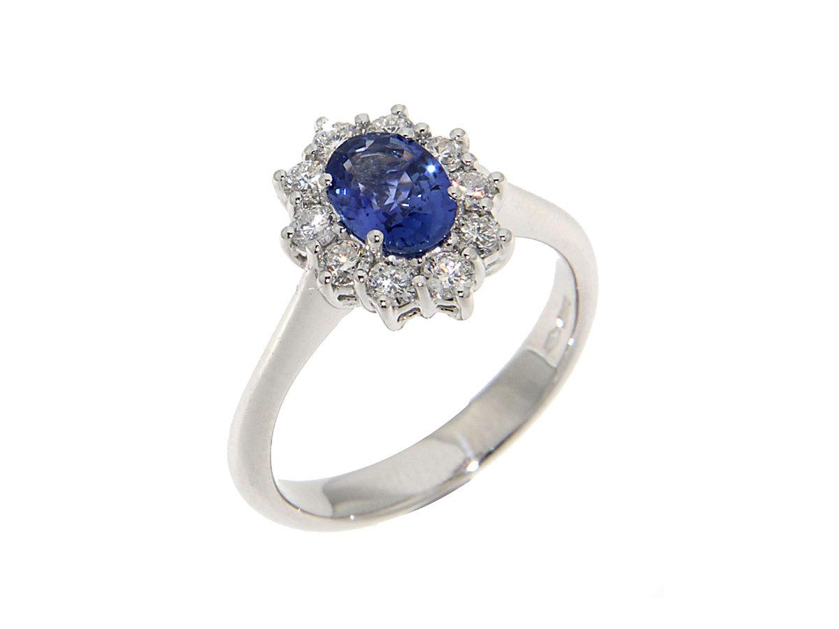 anello-oro-bianco-zaffiro-blu-margherita-ddonna-gioielli