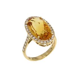 anello-oro-giallo-citrino-rio-ddonna-gioielli