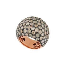 anello-oro-rosa-diamanti-brown-drop-ddonna-gioielli