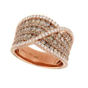 anello-oro-rosa-diamanti-ct-0,40-diamanti-brown-ct-1,56-twister-ddonna-gioielli