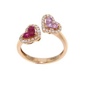anello-oro-rosa-diamanti-rubini-zaffiri-rosa-romeo-giulietta-ddonna-gioielli-2