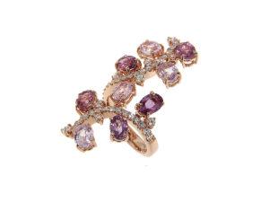 anello-oro-rosa-diamanti-zaffiri-rosa-life-ddonna-gioielli