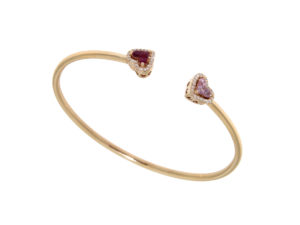 bracciale-oro-bianco-diamanti-rubini-zaffiri-rosa-romeo-giulietta-ddonna-gioielli