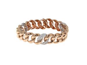bracciale-oro-rosa-bianco-diamanti-ct-1,87-groumette-ddonna-gioielli