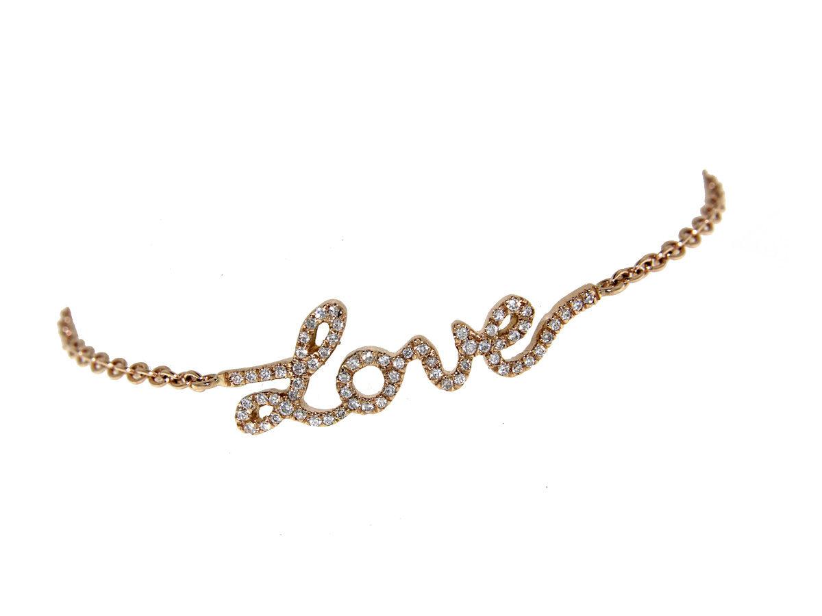 bracciale-oro-rosa-diamanti-lettere-amore-ddonna-gioielli