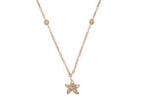 collana-oro-rosa-diamanti-stella-bridge-ddonna-gioielli