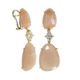 orecchini-oro-bianco-diamanti-peach-moonstone-element-flat-ddonna-gioielli
