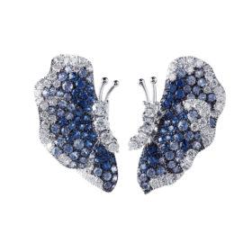 orecchini-oro-bianco-diamanti-zaffiri-blu-butterfly-ddonna-gioielli