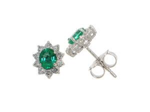 orecchini-oro-bianco-smeraldo-margherita-ddonna-gioielli