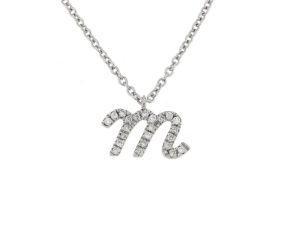 pendente-oro-bianco-diamanti-lettere-amore-ddonna-gioielli