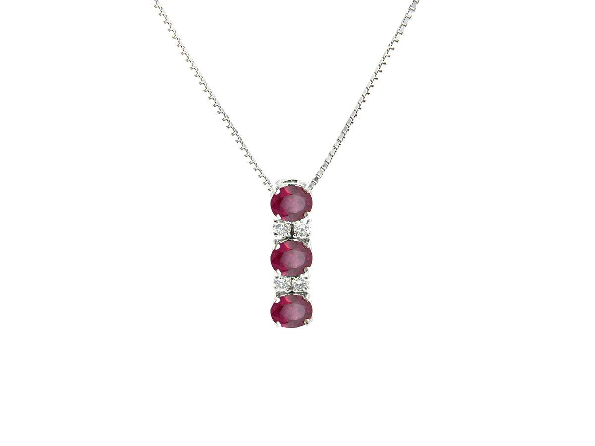 pendente-oro-bianco-diamanti-rubini-rainbow-ddonna-gioielli