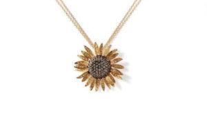 pendente-oro-gialo-diamanti-girasole-ddonna-gioielli