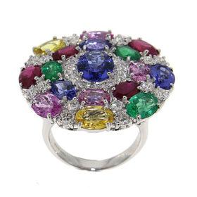 anello-oro-bianco-diamanti-tanzaniti-pietre-preziose-sahara-ddonna-gioielli