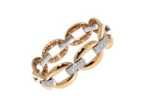 bracciale-oro-rosa-bianco-diamanti-ct-2.60-groumette-ddonna-gioielli