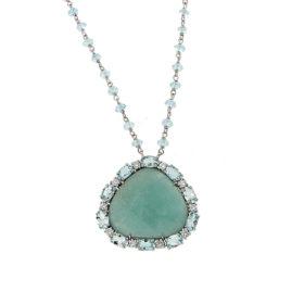 pendente-oro-bianco-diamanti-topizi-amazzonite-frida-ddonna-gioielli